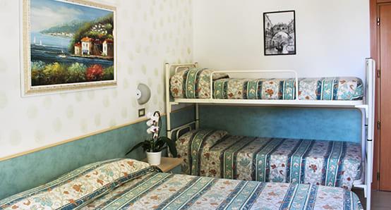 hotel flora bellaria camere baby ospiti
