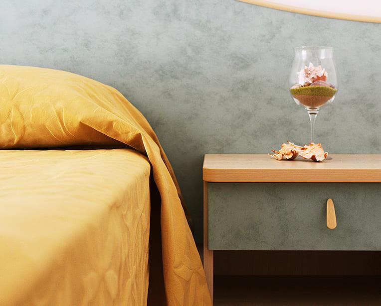 hotel flora bellaria camere comodino foto grande