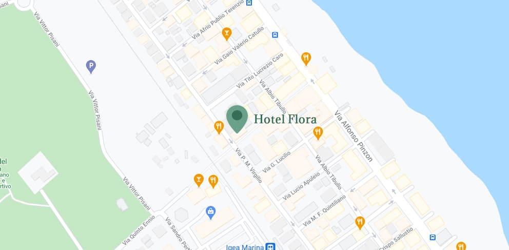 hotel flora bellaria info e contatti mappa posizione media