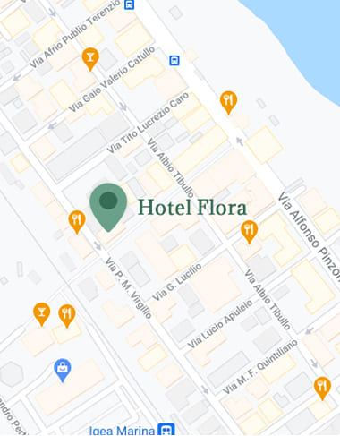 hotel flora bellaria info e contatti mappa posizione mobile