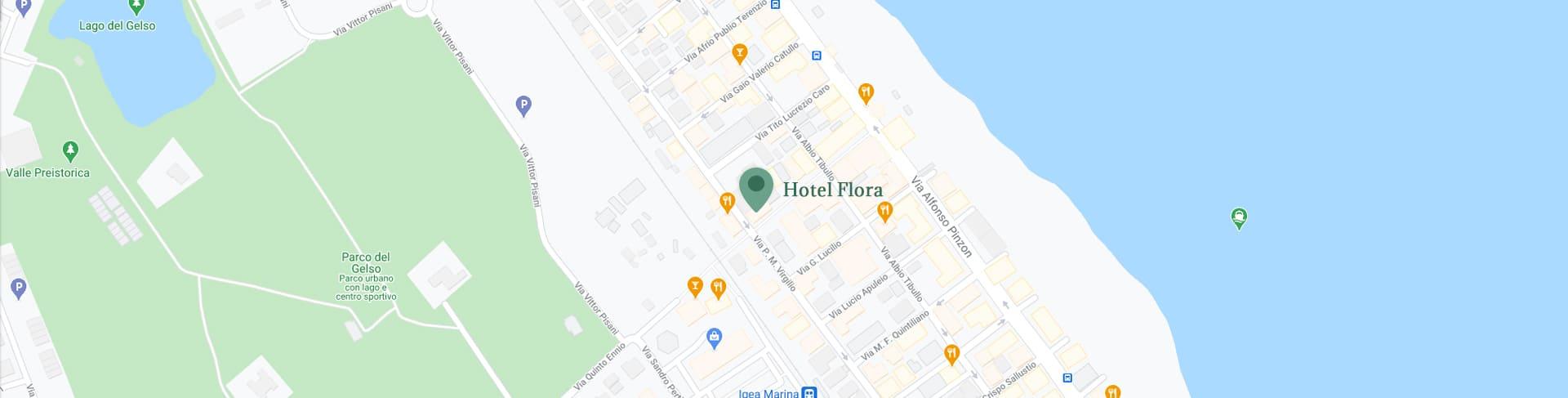 hotel flora bellaria info e contatti mappa posizione